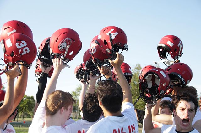 Cardinals dominated homecoming night with a 52-7 win against the Buckholt Badgers!!
