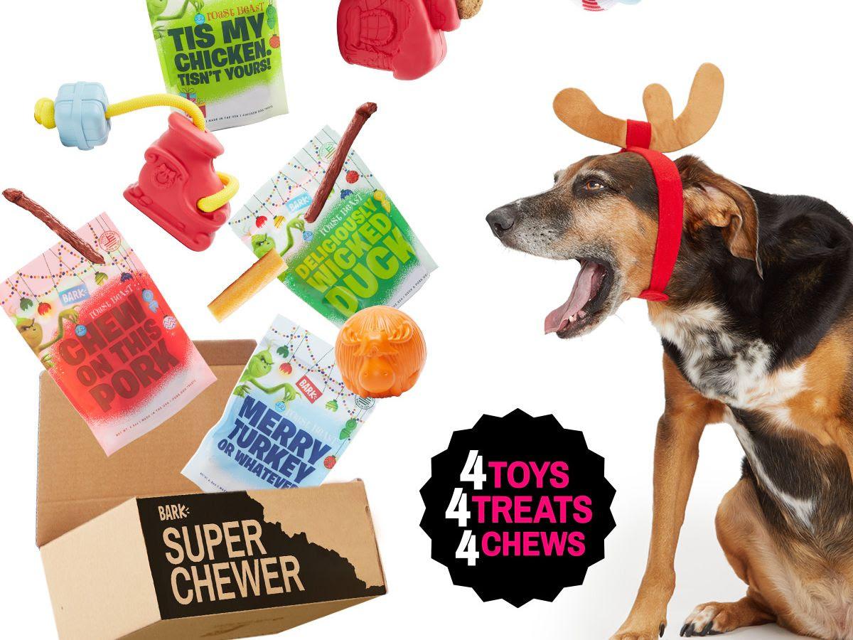 BarkBox Super Chewer Box , $45/1 month up to $329/12 months