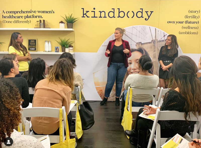 A 101 information session at Kindbody