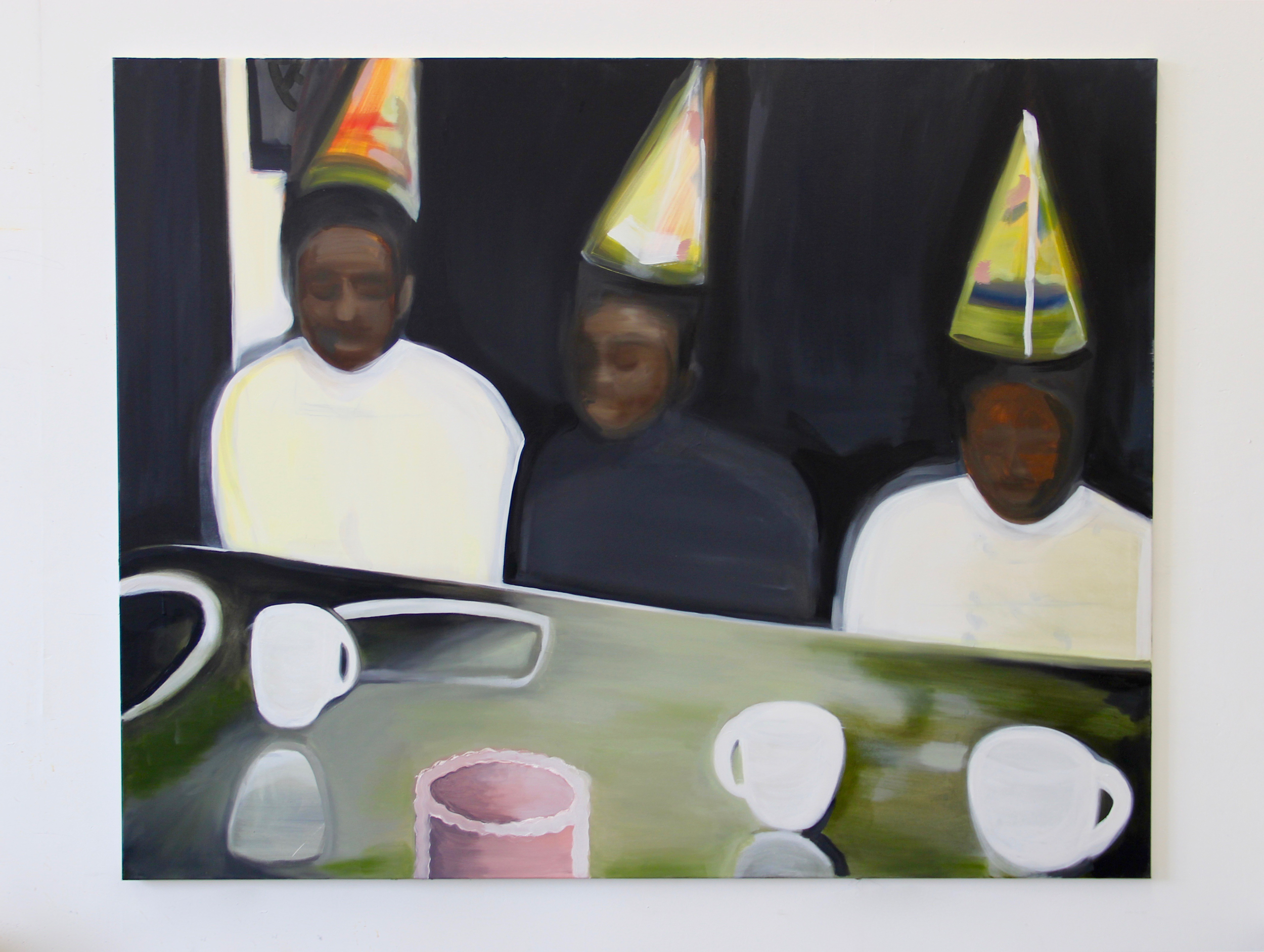 Birthday Party , 2018 Oil on canvas 48 x 60 inches
