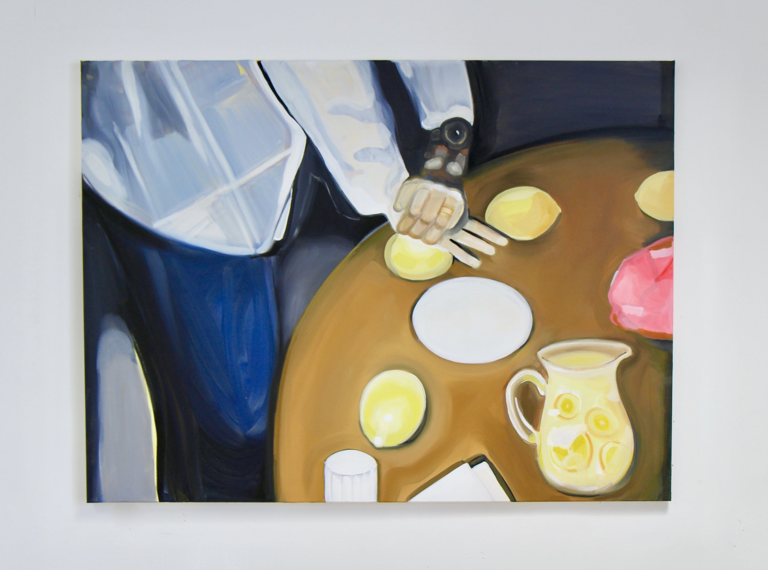 Lemonade , 2018 Oil on canvas 36 x 48 inches