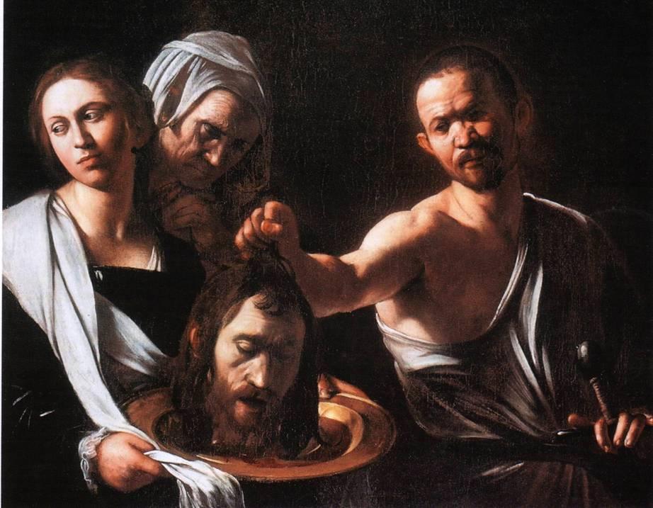 Salomé con la cabeza de San Juan (1607)