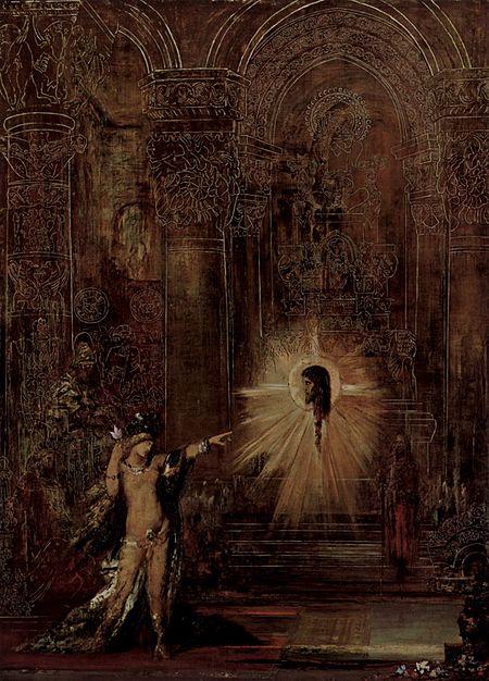 L'Apparition (1876) Gustav Moureau