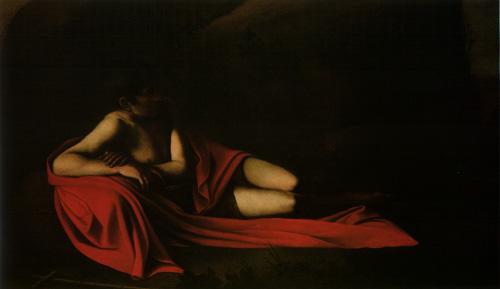 Caravaggio-Baptist-reclining1610.jpg