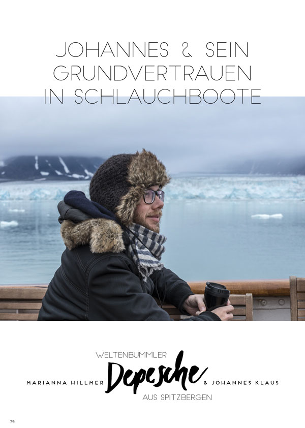 Kopie von Copy of Spitzbergen Depesche