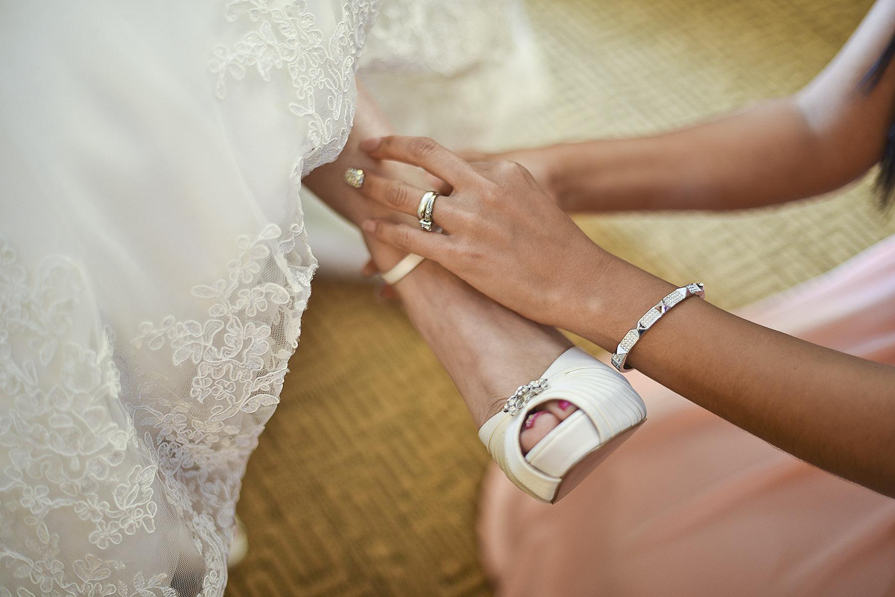 Sugar Land Wedding shoes 2