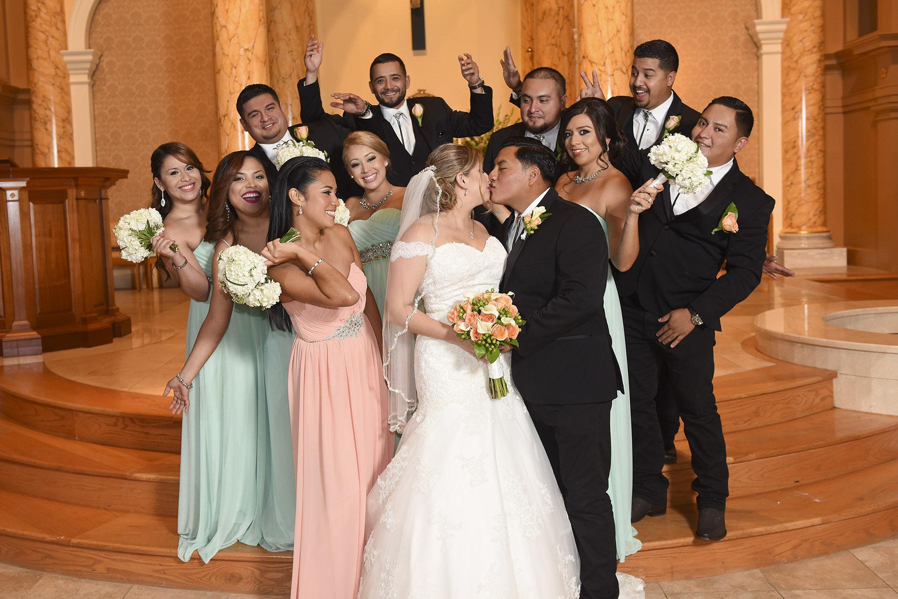 Sugar Land Wedding Wedding Party 1