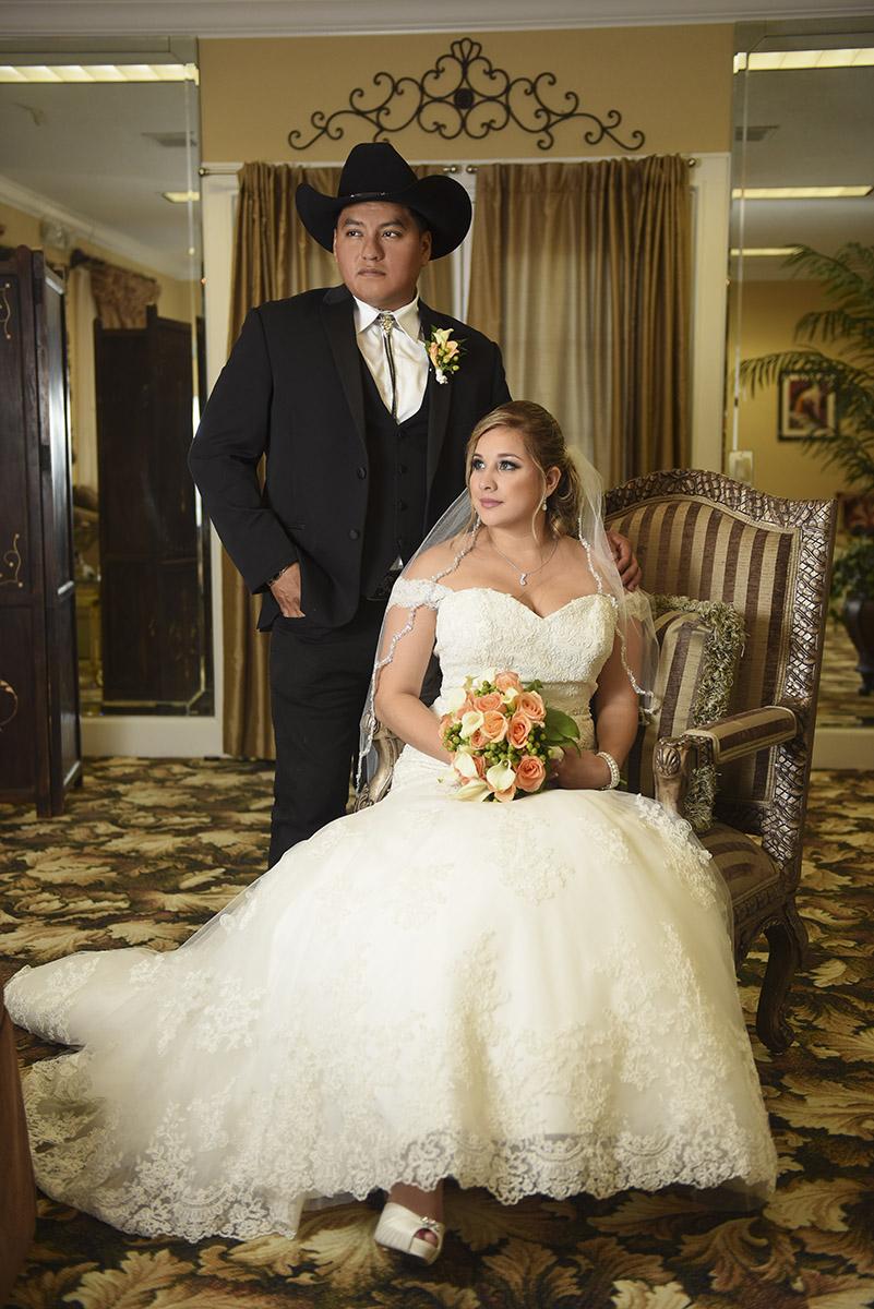 Sugar Land Wedding high fashion portrait 2