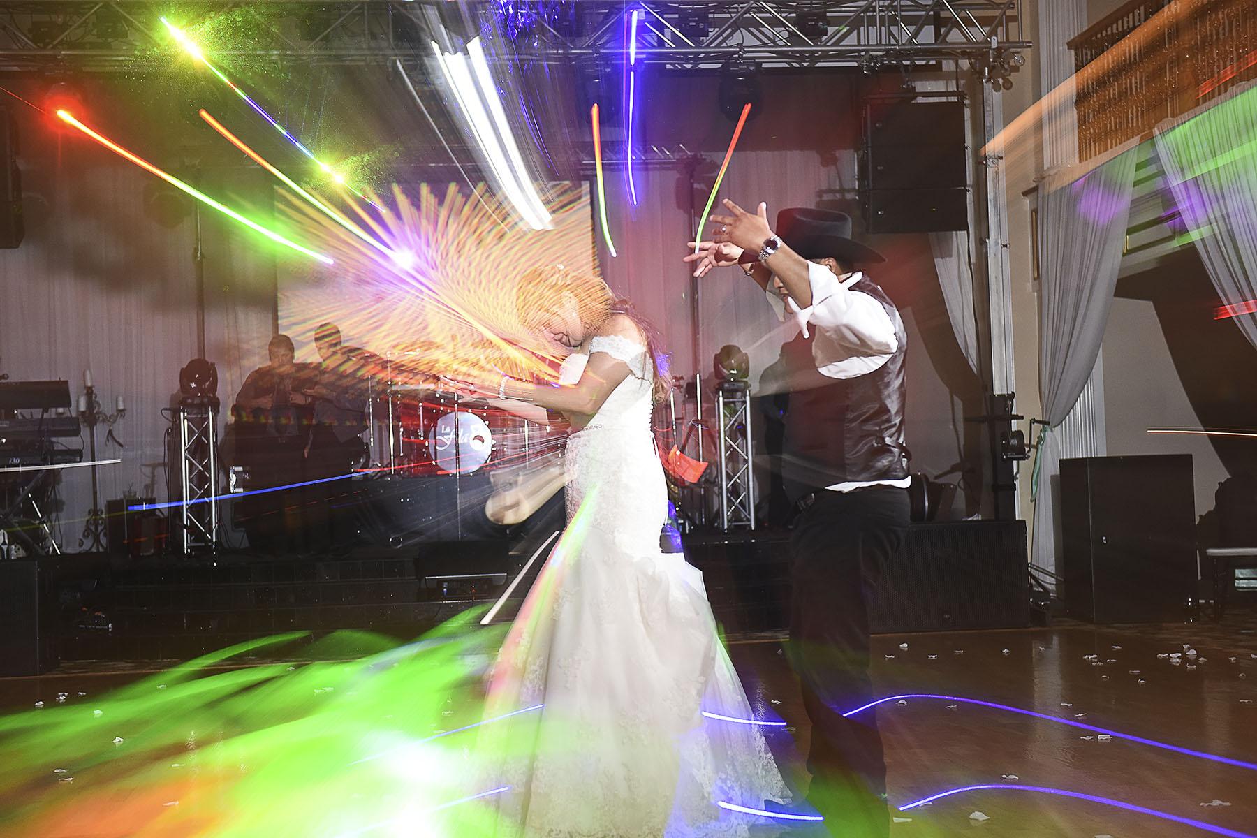 Sugar Land Wedding dancing candid 2