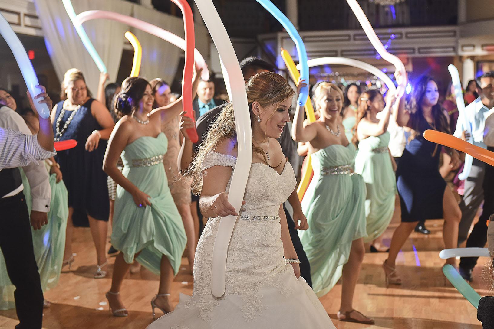 Sugar Land Wedding dancing candid 3