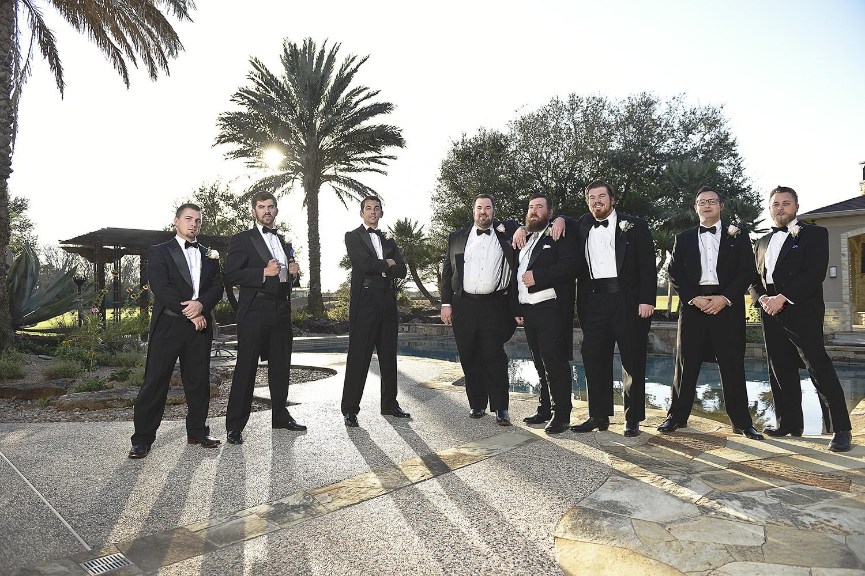 houston-tomball-moffitt-oaks-wedding-party-pool-groomsmen
