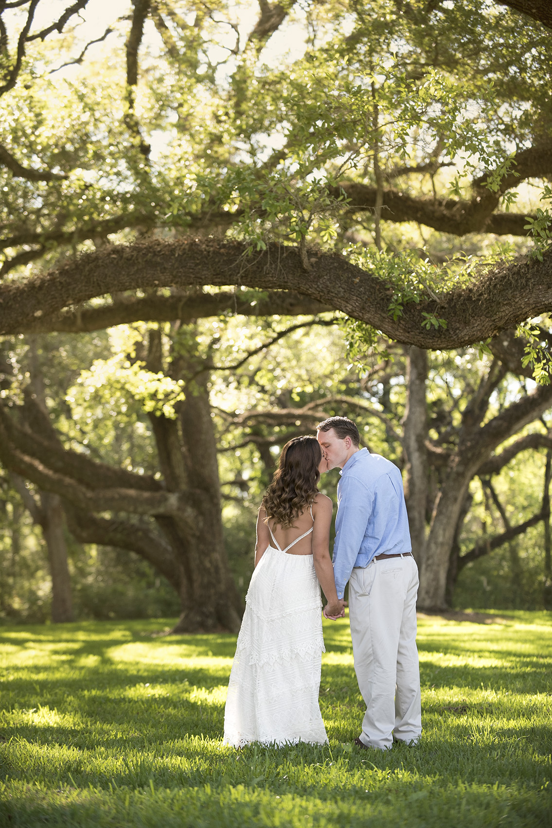 Angleton Magnolia Manor Engagement