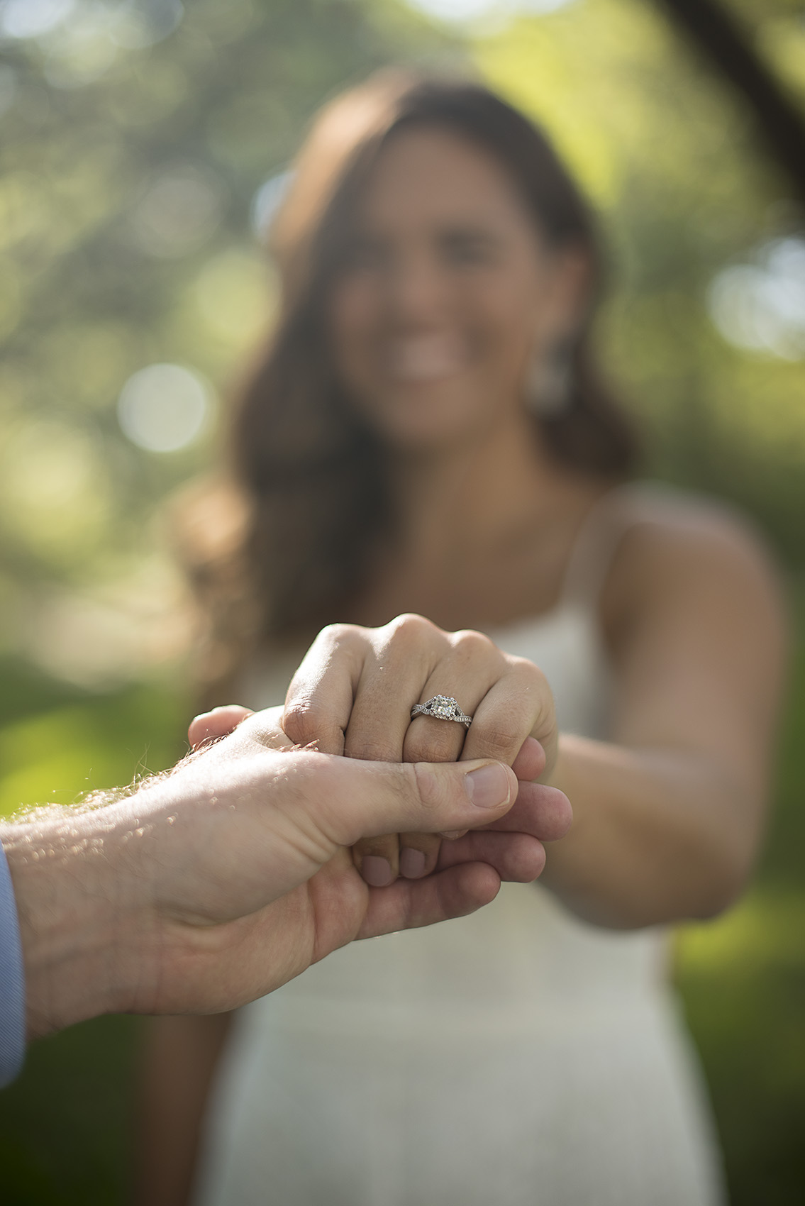 Angleton Magnolia Manor Engagement ring photo