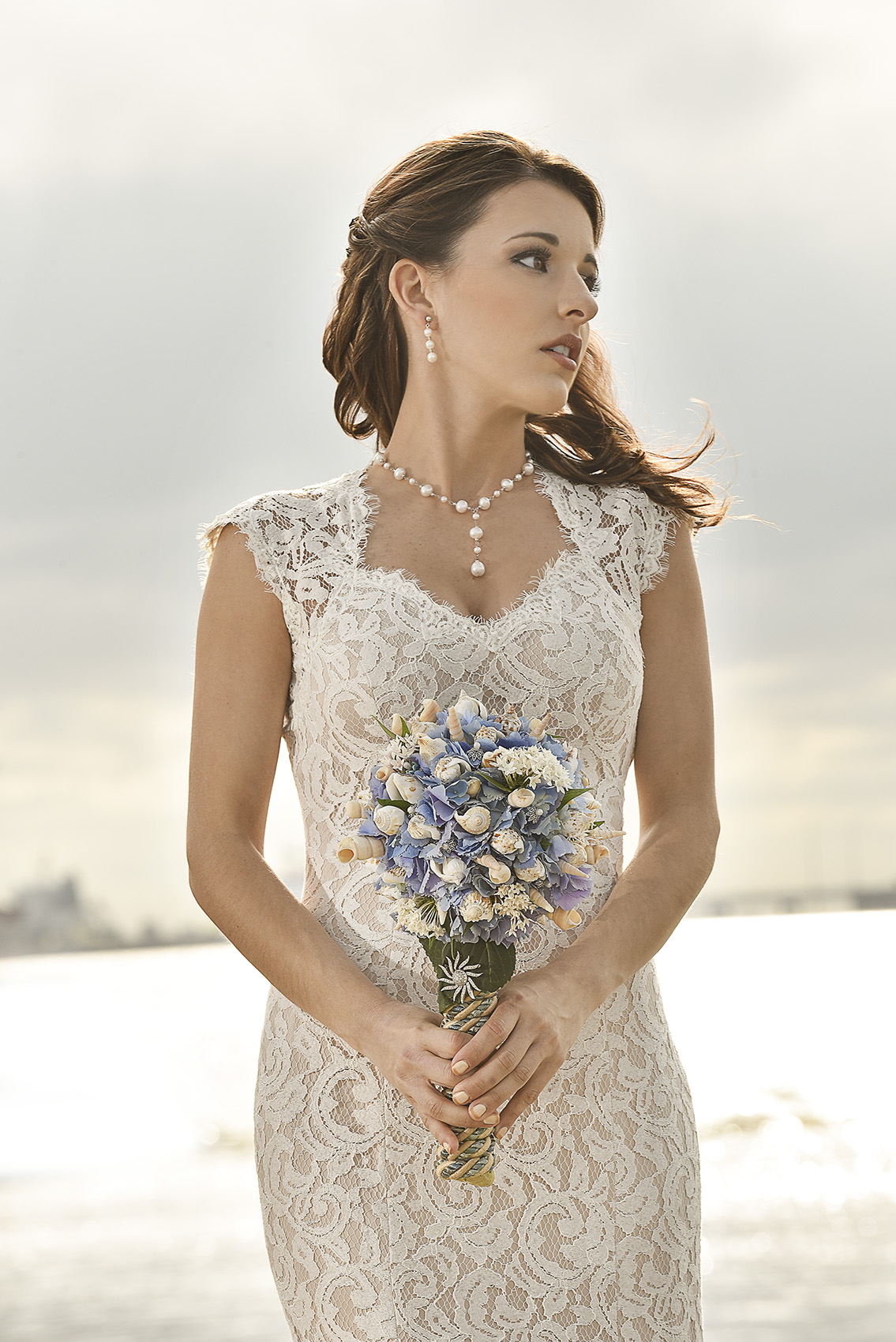 Galveston Modern Romantic Classy High Fashion Military Coastguard Wedding photography