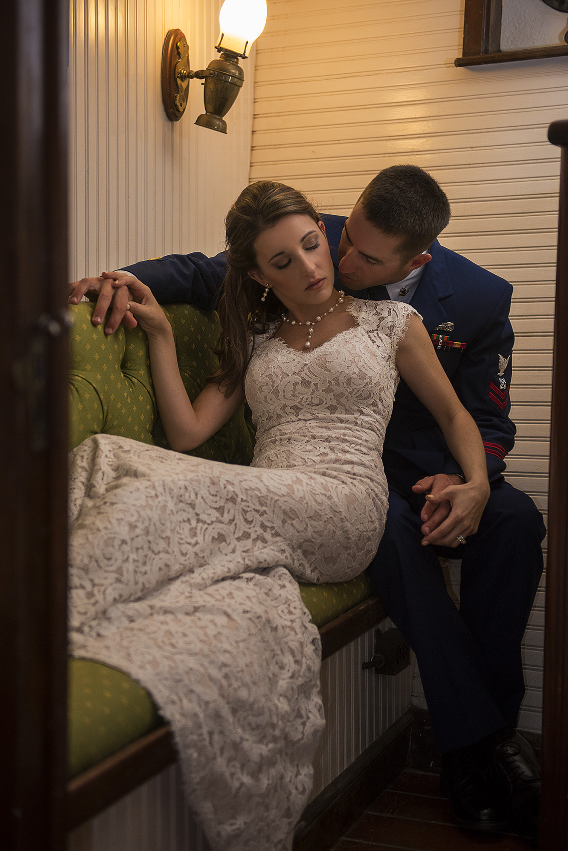Houston Modern Classy Romantic intimate sexy Military Wedding Photography