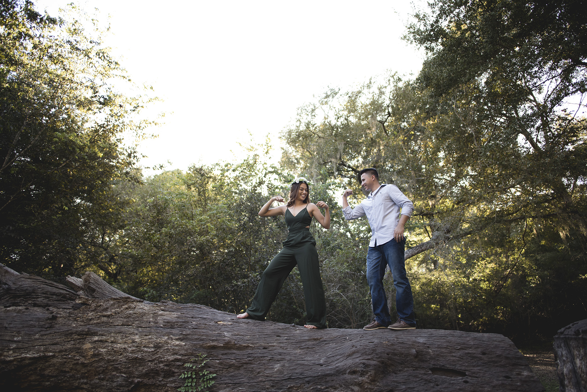 Houston-Brazos-Bend-Park-Lifestyle-Fine-art-engagement-photo