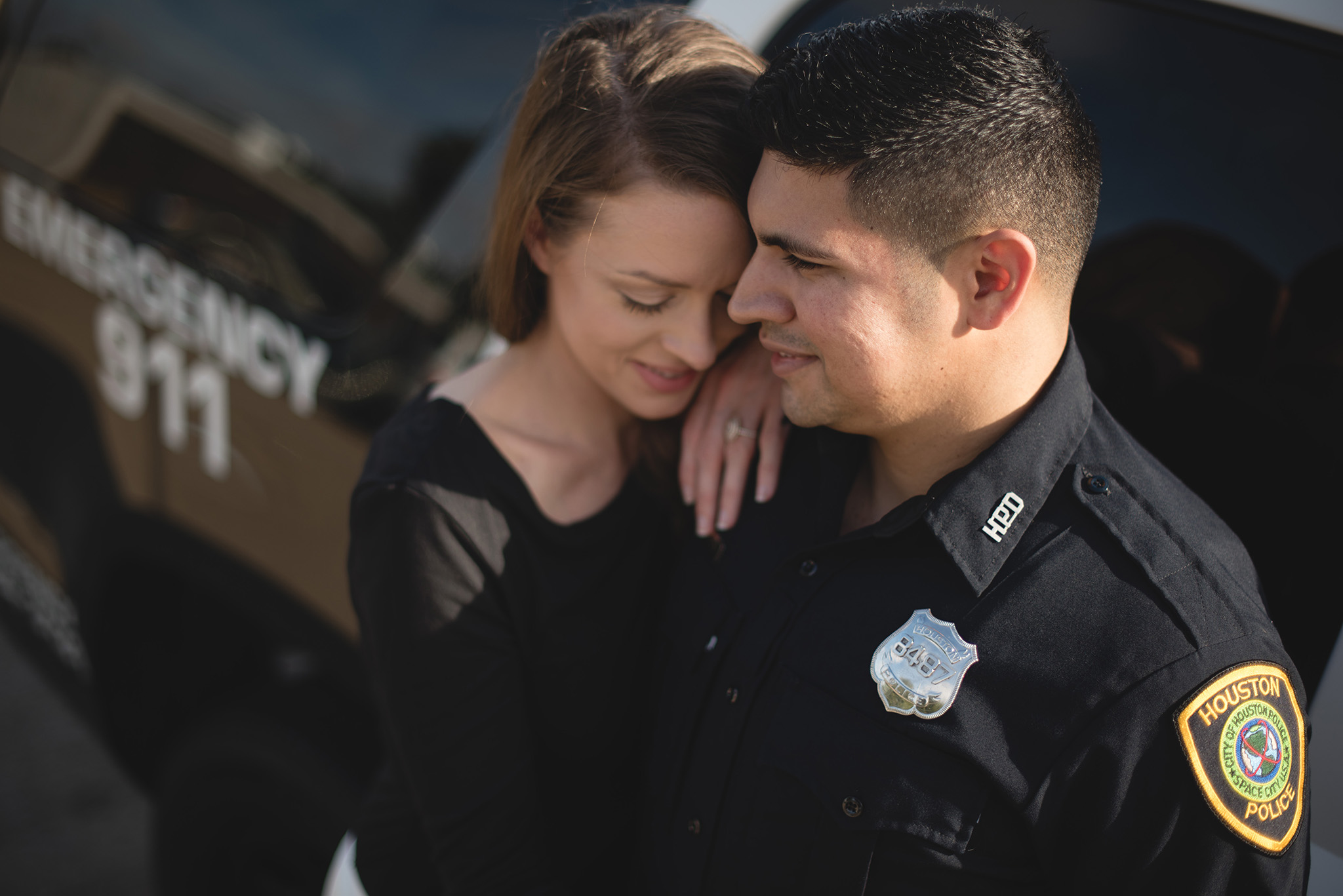 Houston-police-officer-memorial-lifestyle-engagement-photography
