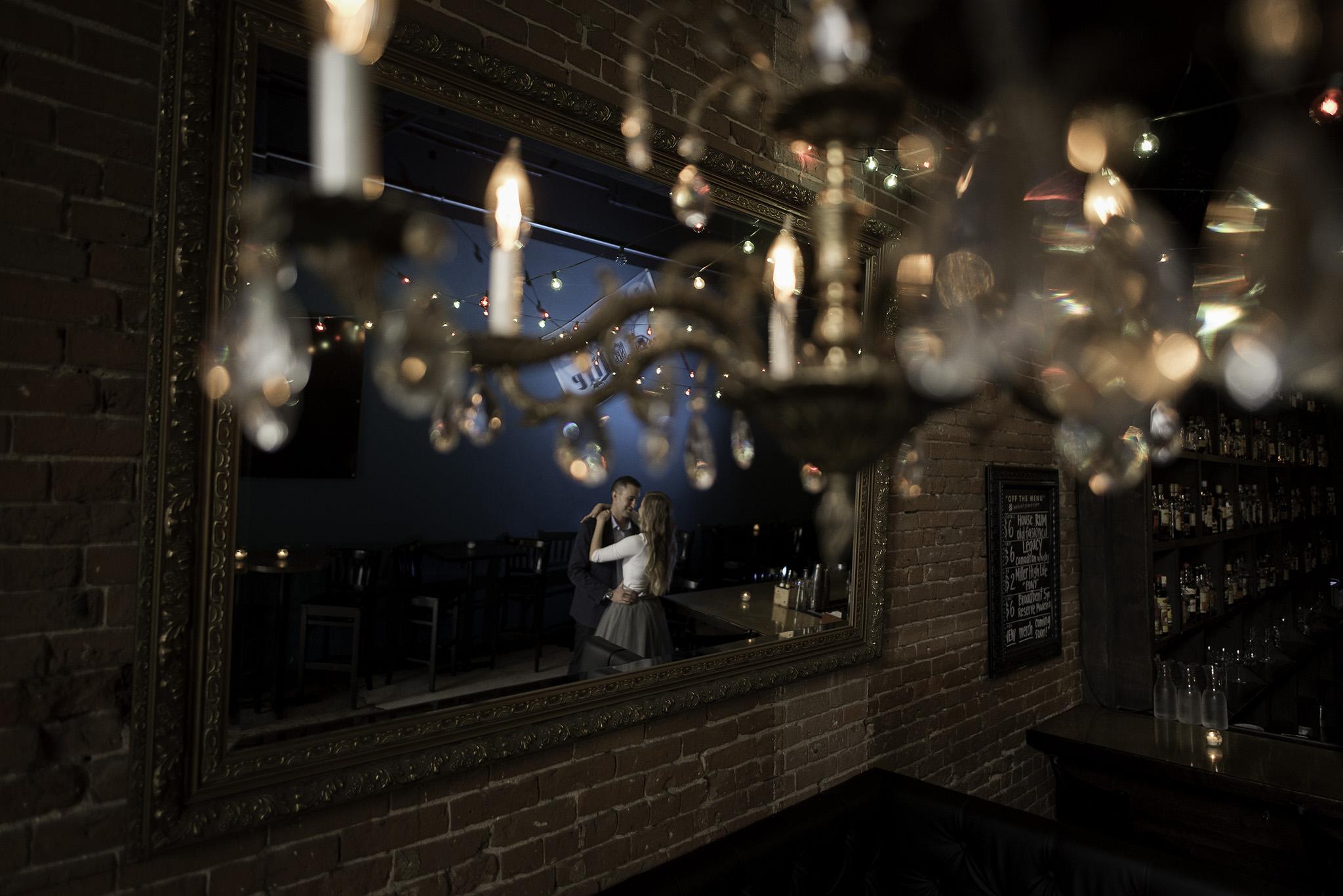 Houston-main-street-moving-sidewalk-bar-lifestyle-engagement-photography