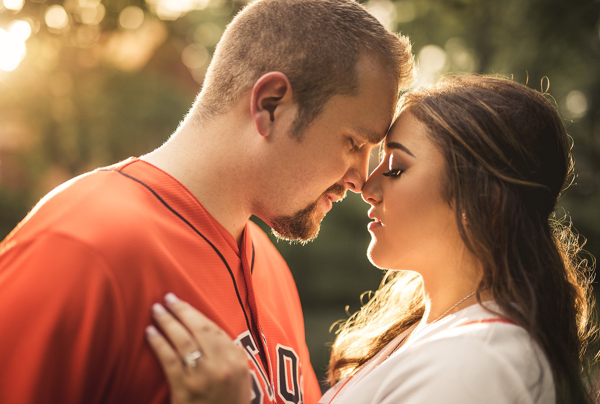 Houston-golden-hour-lifestyle-engagement-photographer
