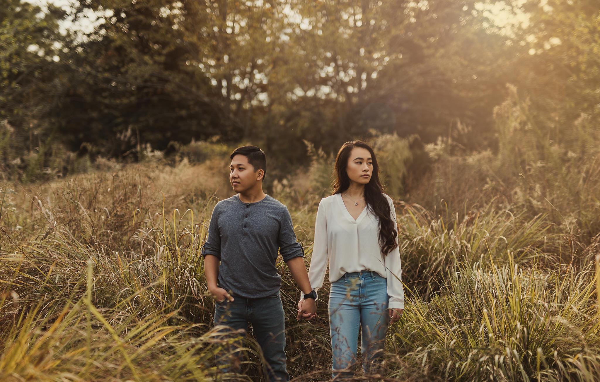 Hermann-park-houston-vietnamese-engagement-golden-hour-photographer-romantic