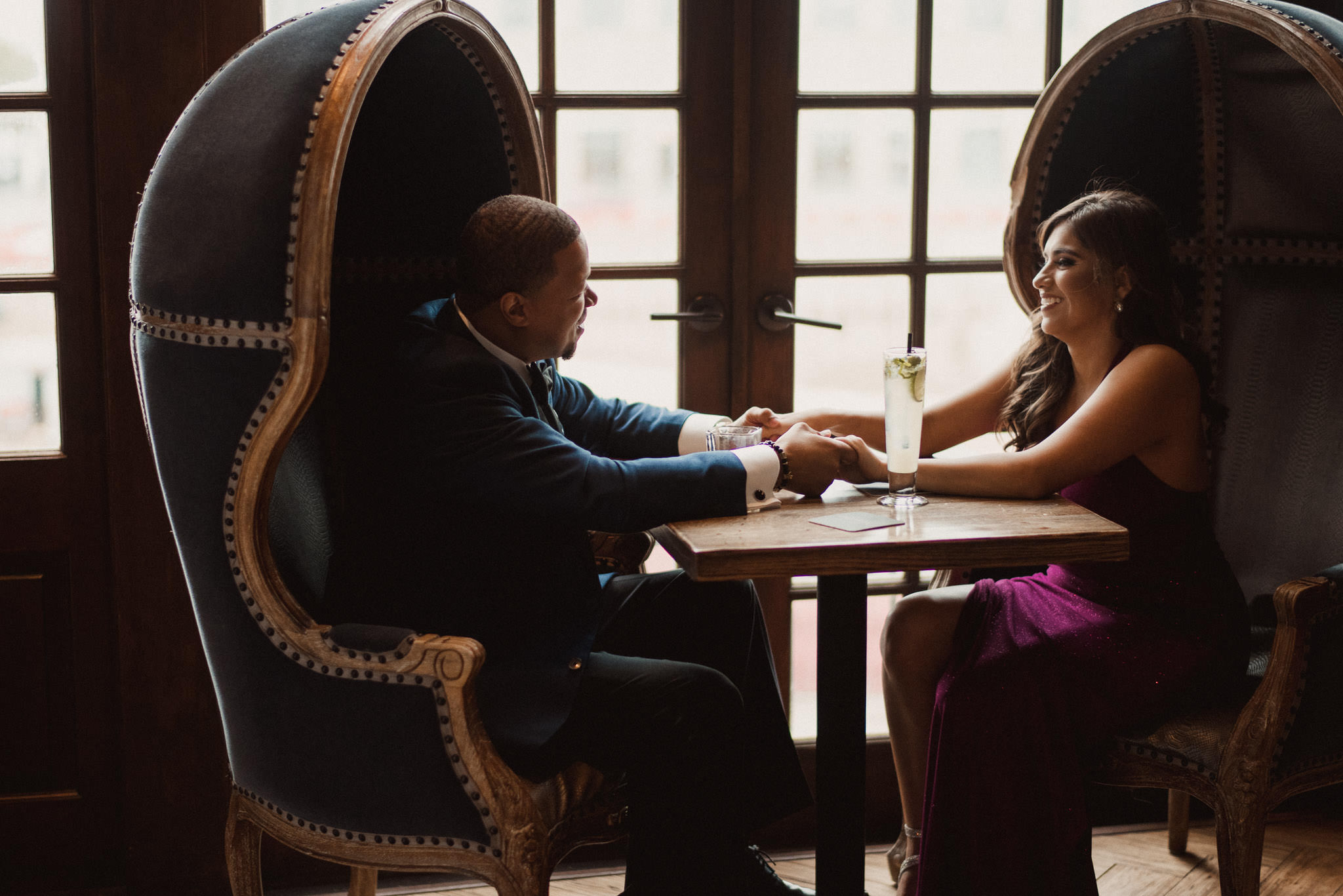 lawless-swanky-classy-iconic-bar-houston-black-tie-engagement-photographer