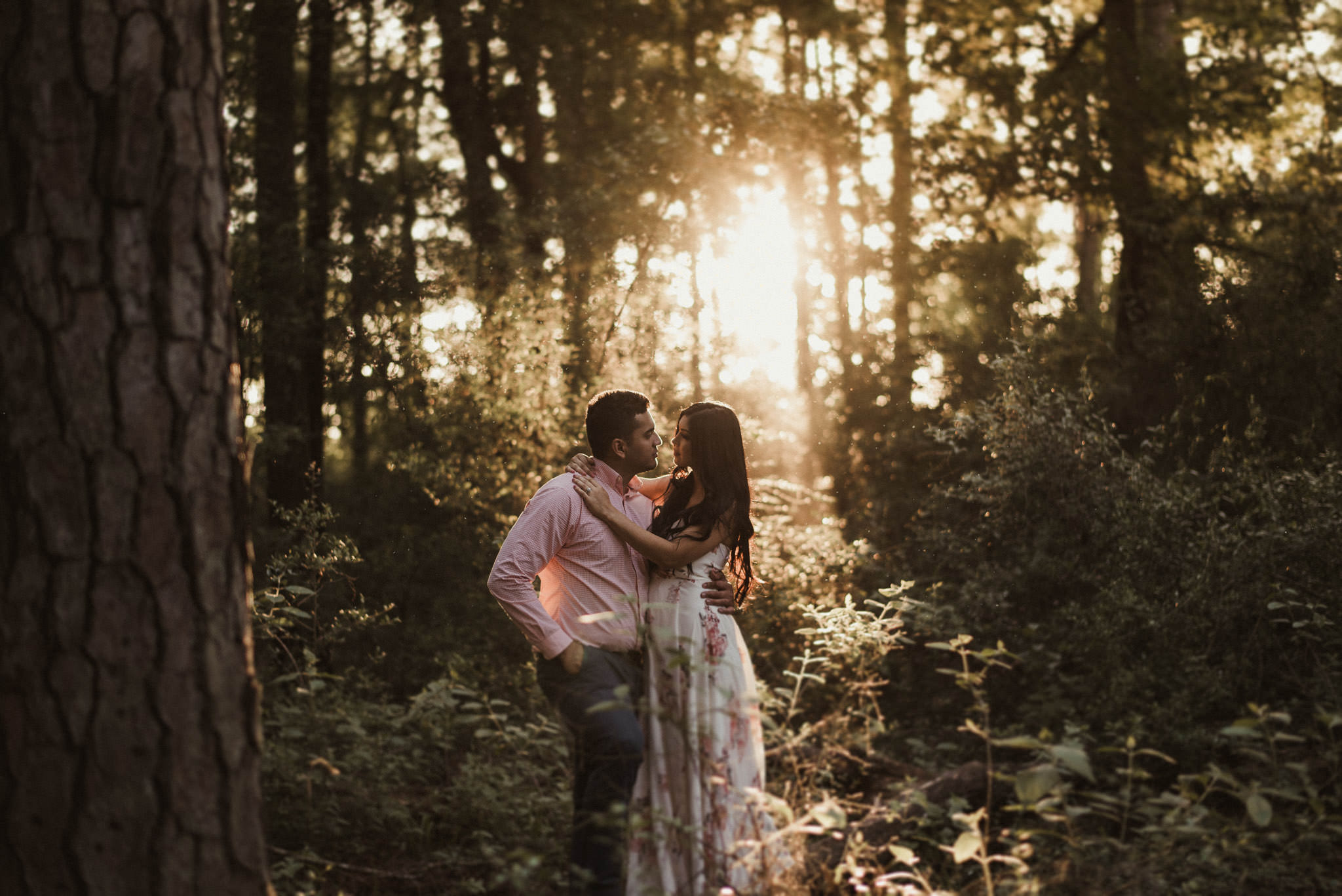 WG-Jones-State-Forest-Woodsy-Whimsical-Conroe-Woodlands-engagement-session-photographer