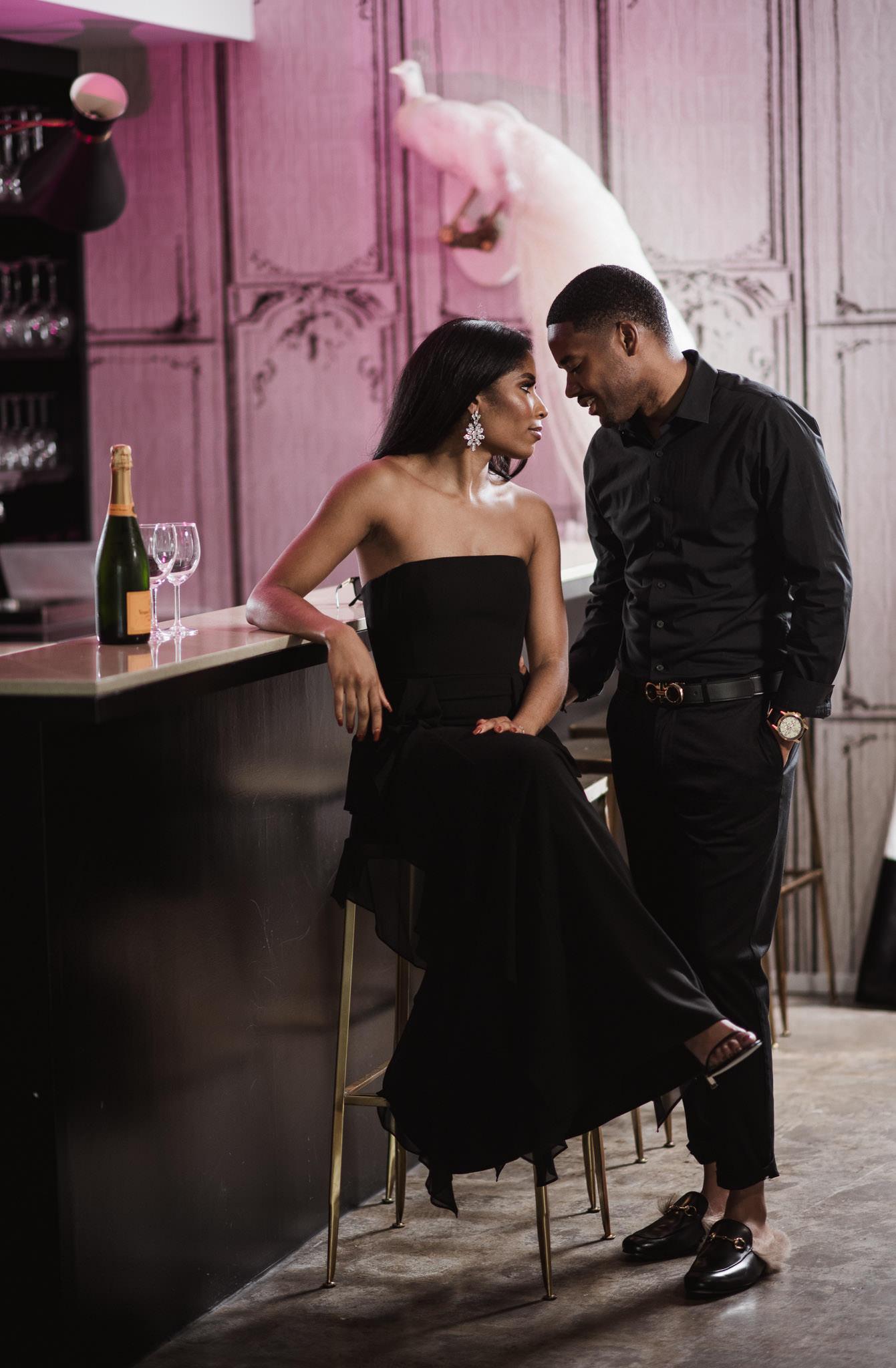 houston-black-beautiful-couple-engagement-session-life-htx-photographer-glam-style