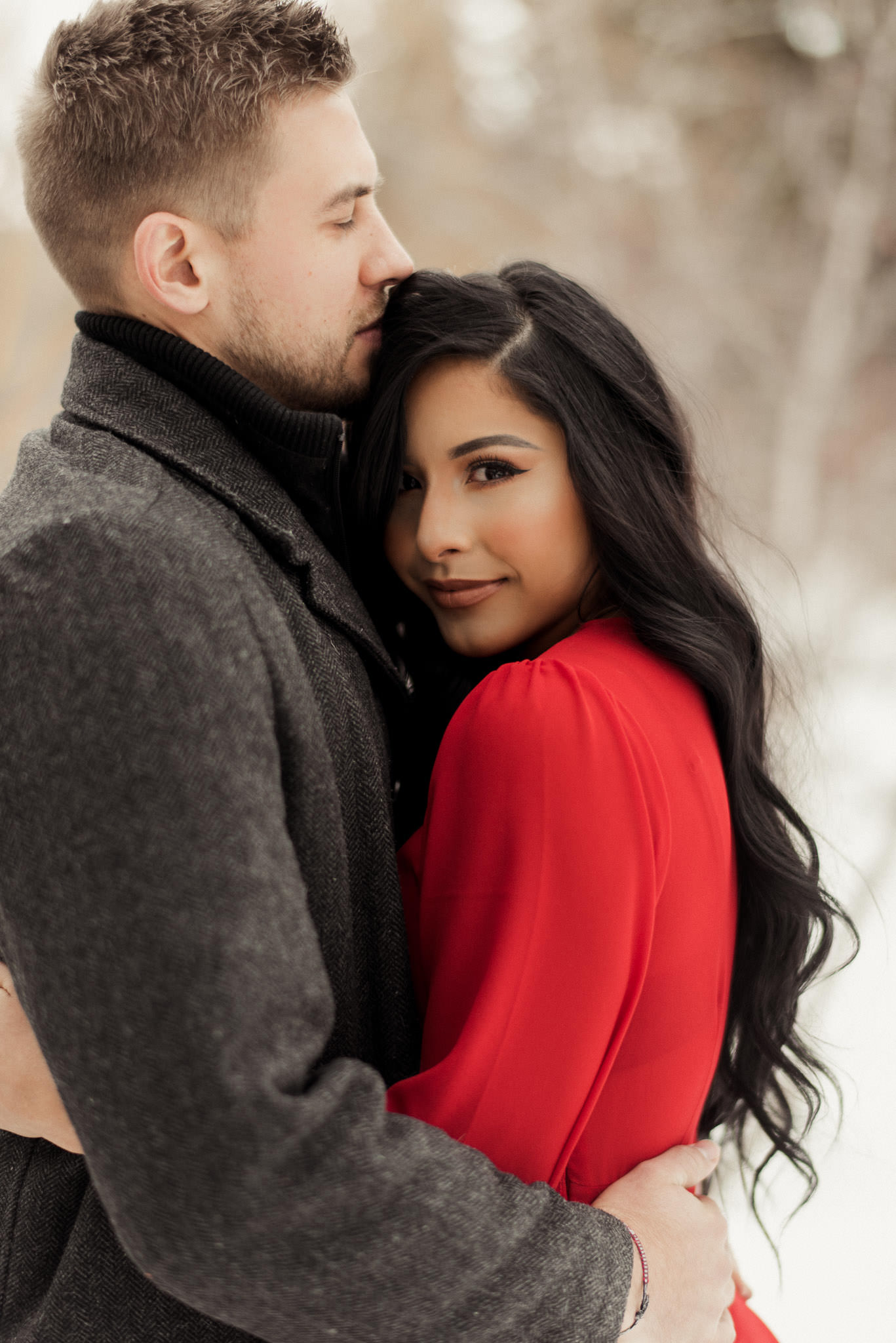 colorado-adventure-winter-snow-couples-engagement-photographer-red-dress