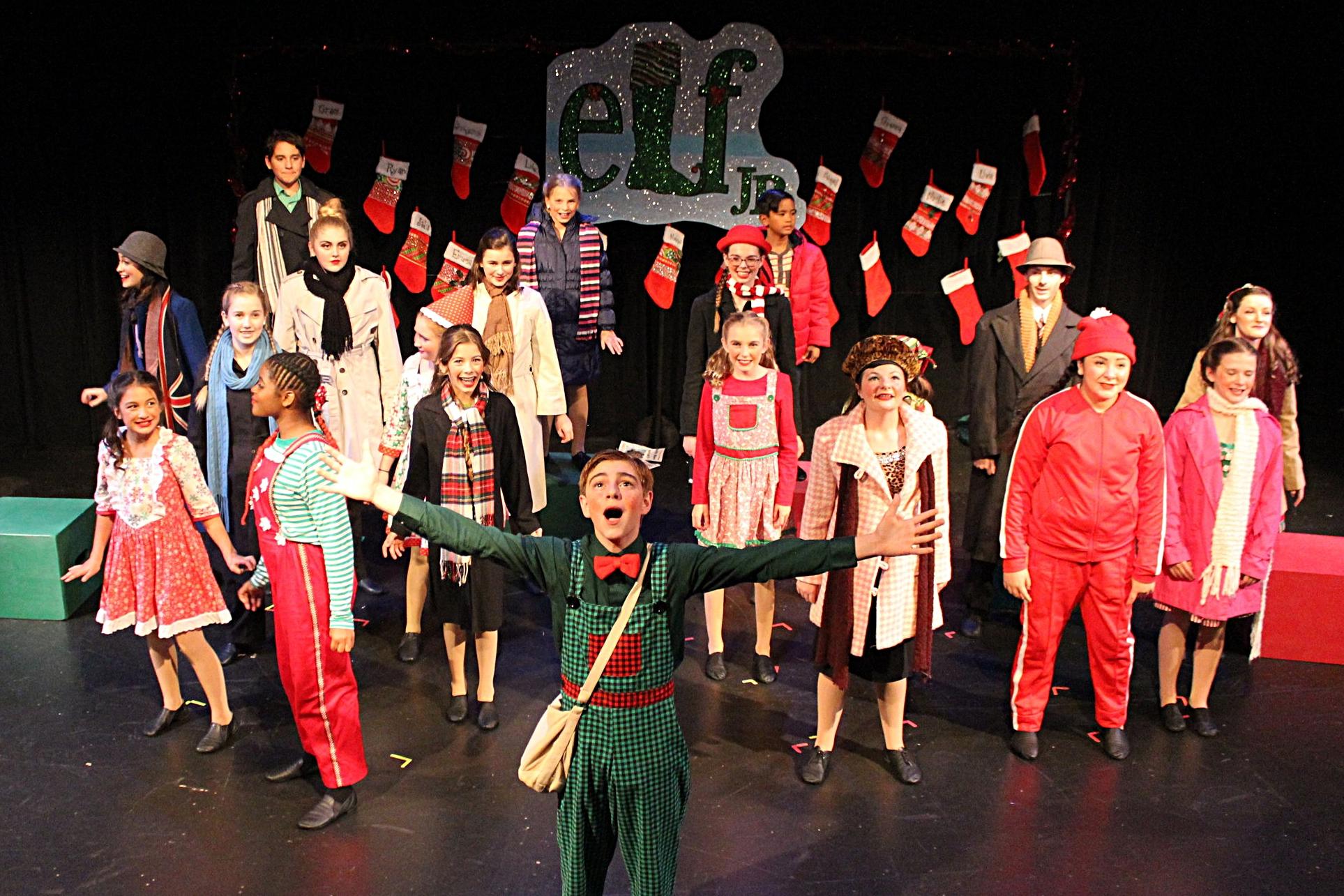 Elf Jr Performers won