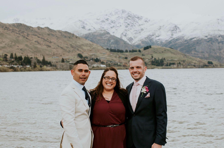 Wedding Celebrant Queenstown Photographer