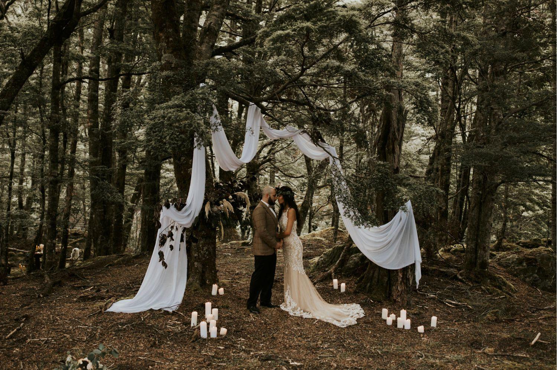 Queenstown Wedding Photographer Dress