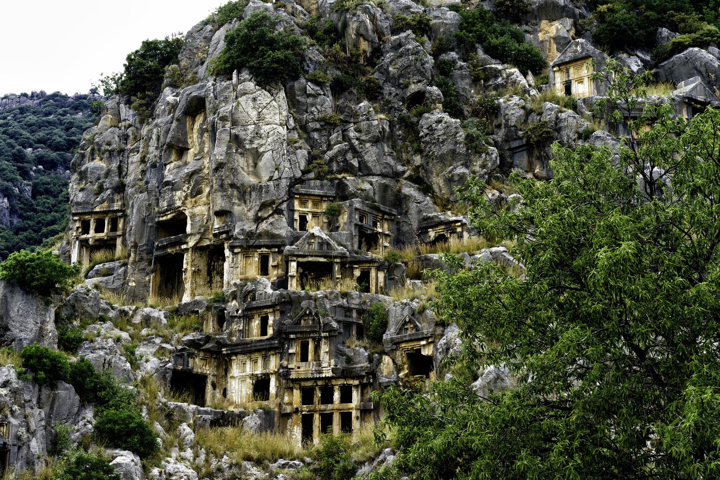 Lycian Rock Tombs Turkey