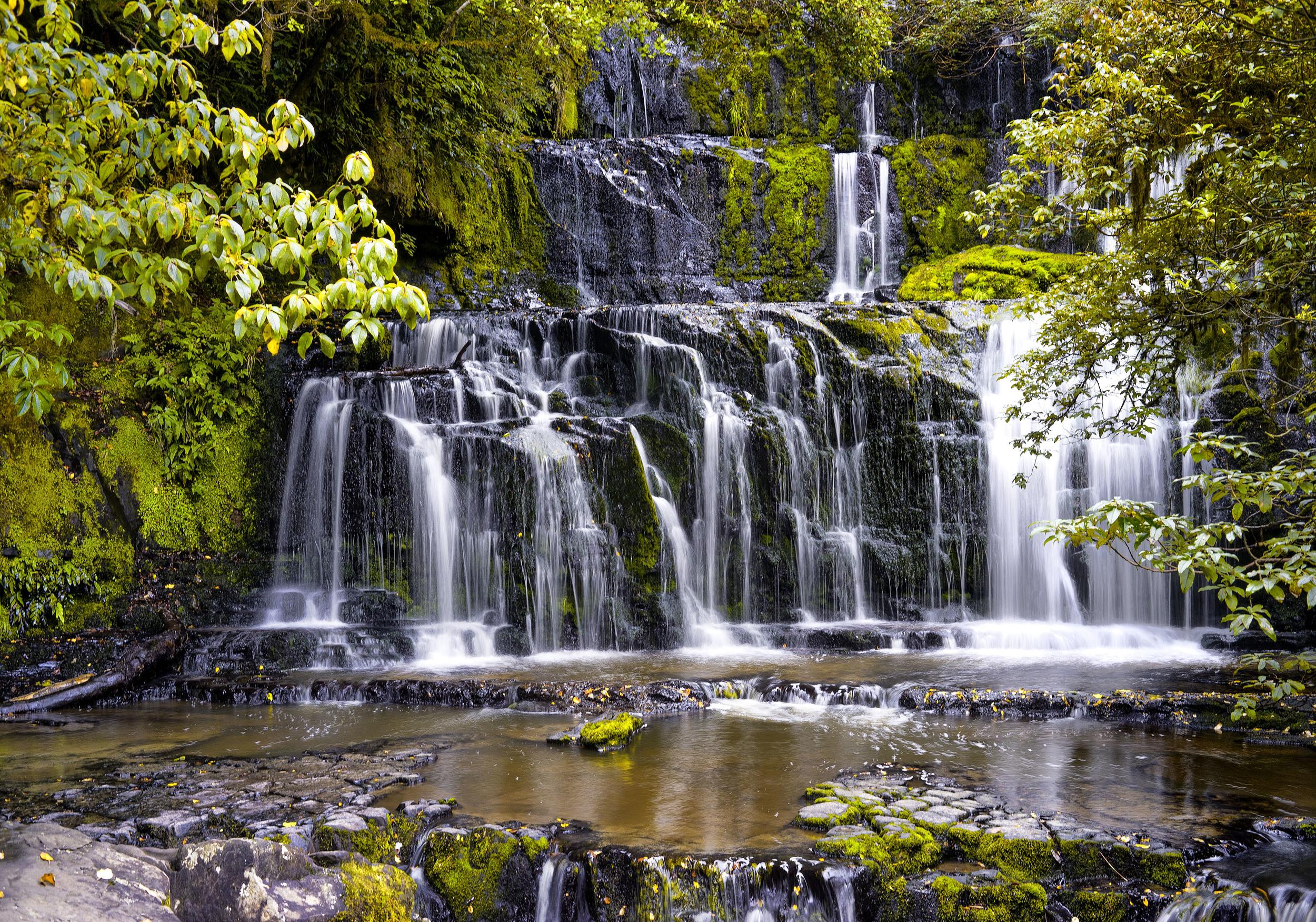 Purakaunui Falls New Zealand