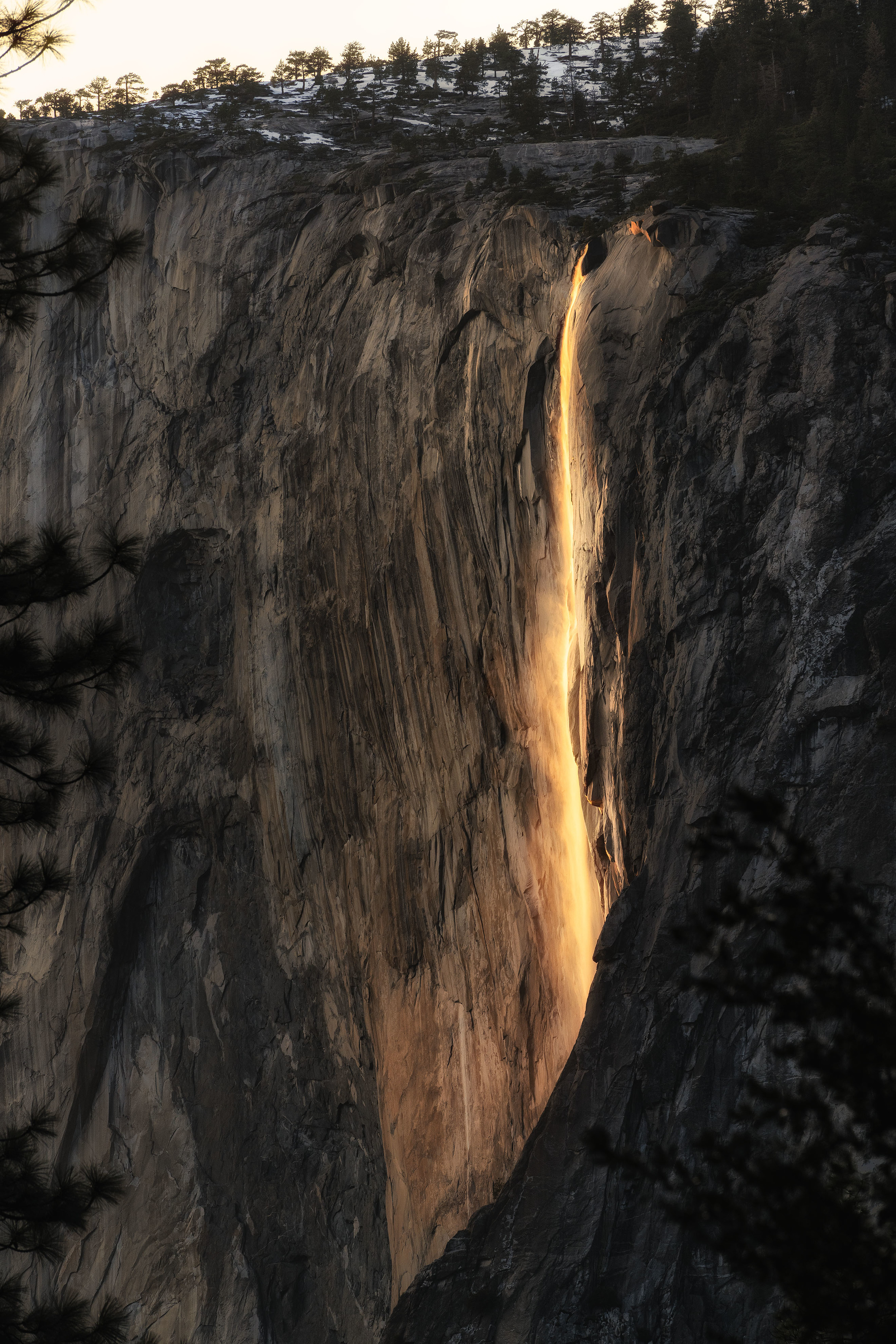 Fire Fall Yosemite National Park - California