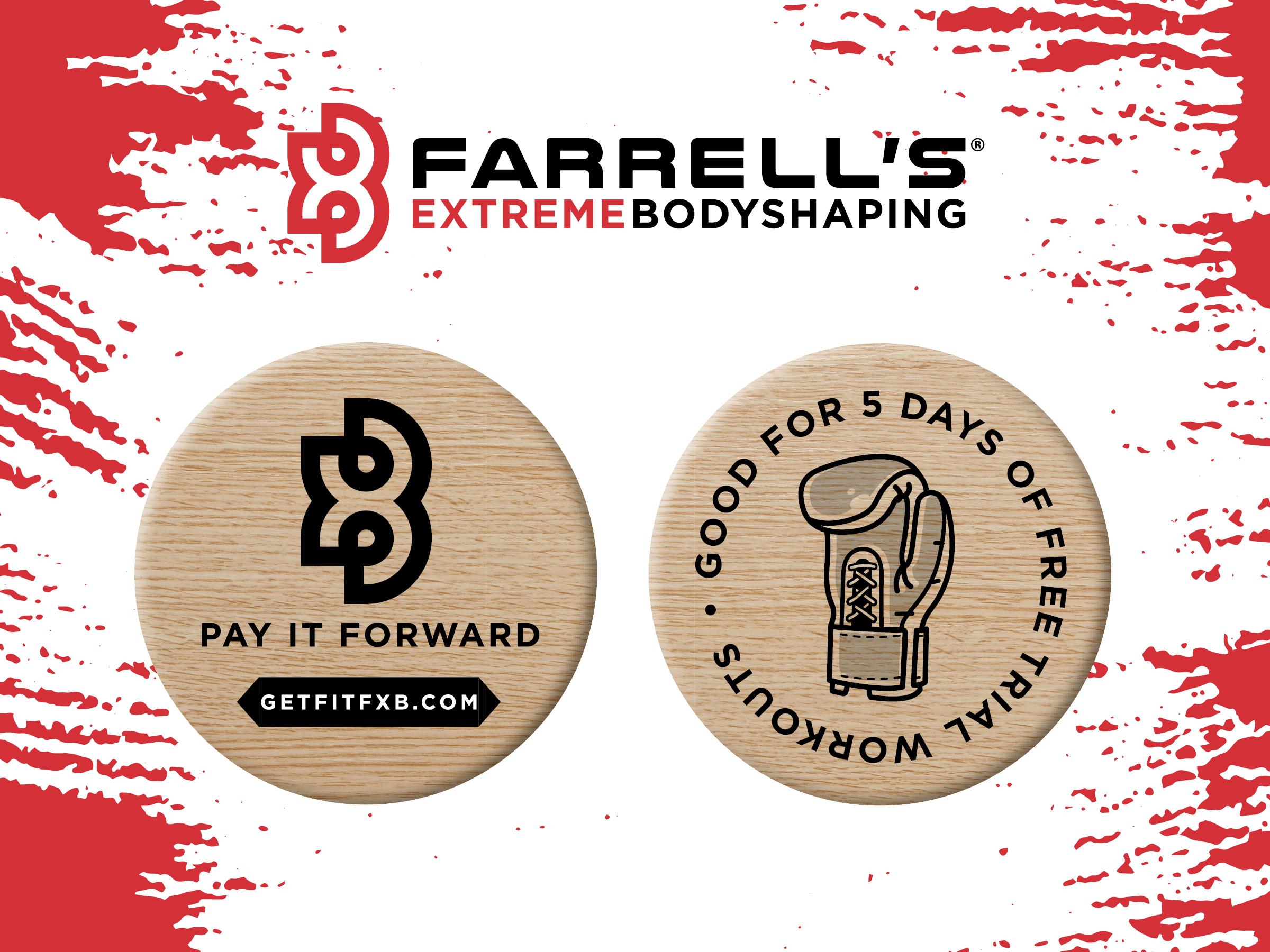 Farrell's: Wooden Nickel