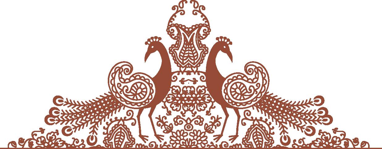 unique henna design