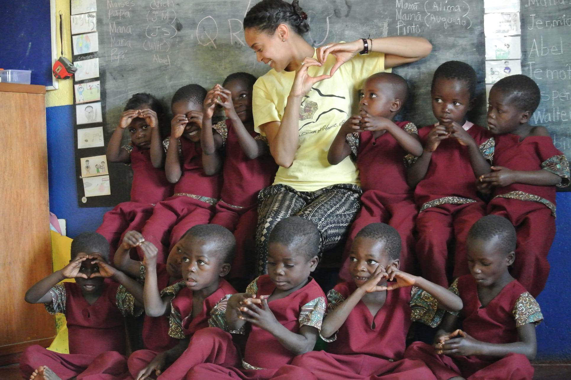 iReachAfrica Education Center Gondola, Mozambique July 2016