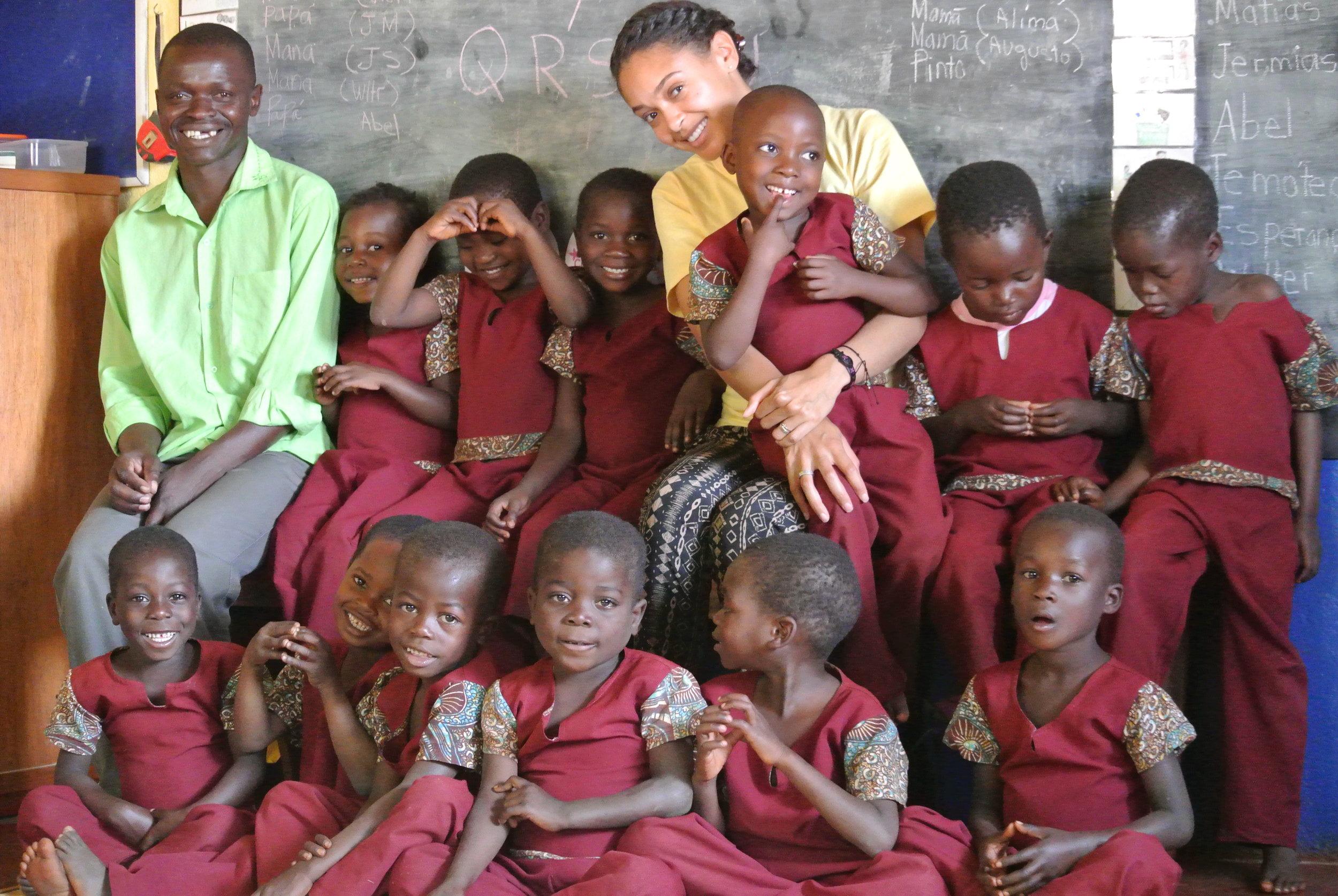 iReachAfrica Education Center Gondola, Mozambique 2016