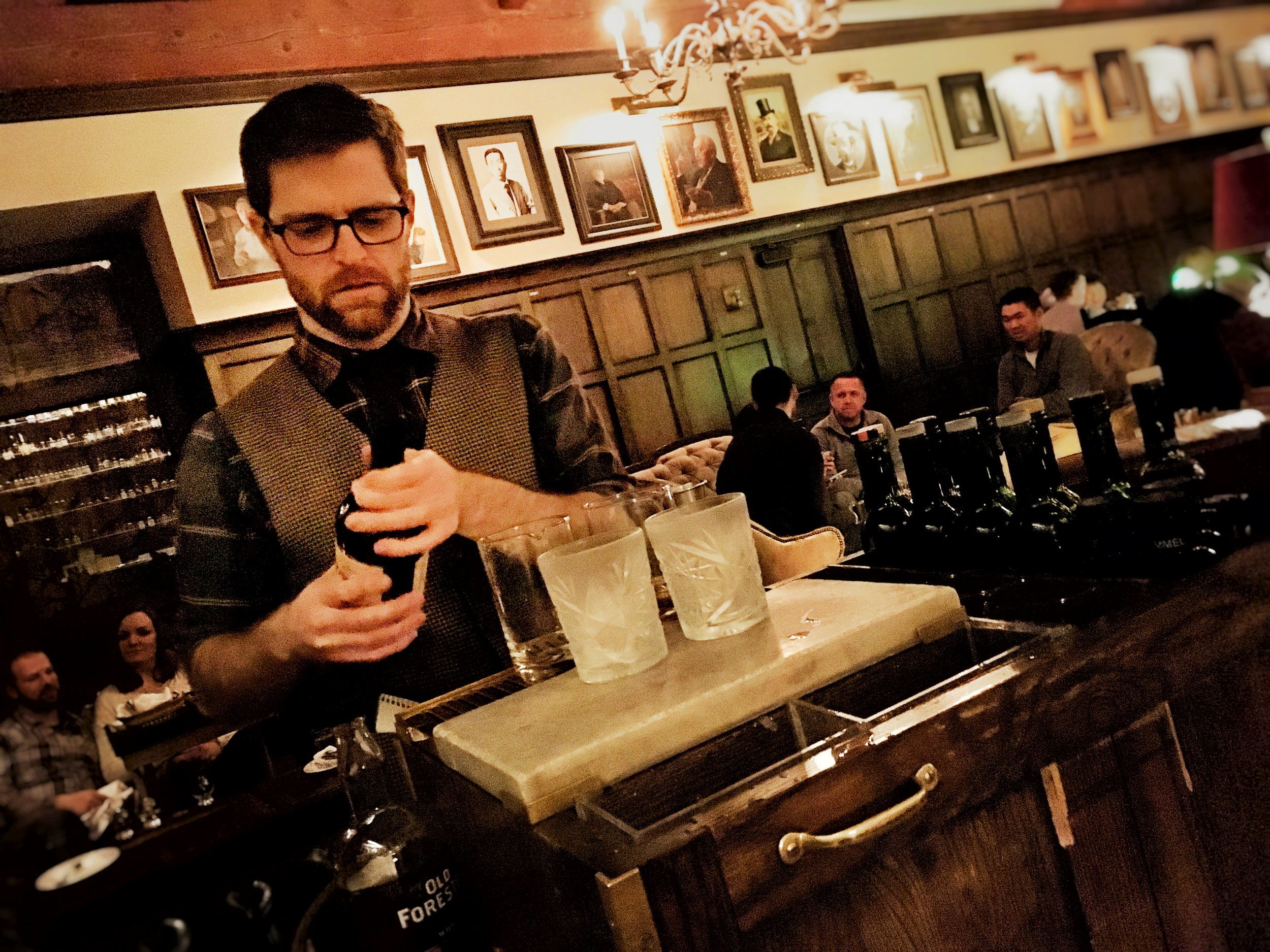 Bartender Brett