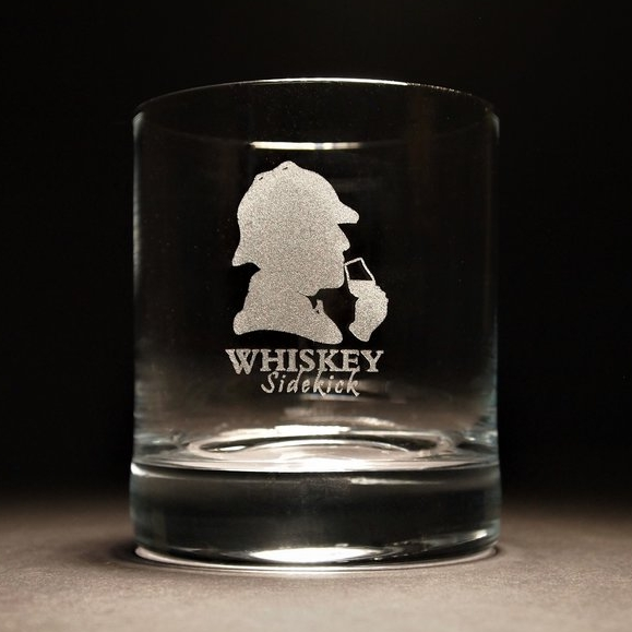 Whiskey Sidekick - Rocks Glass