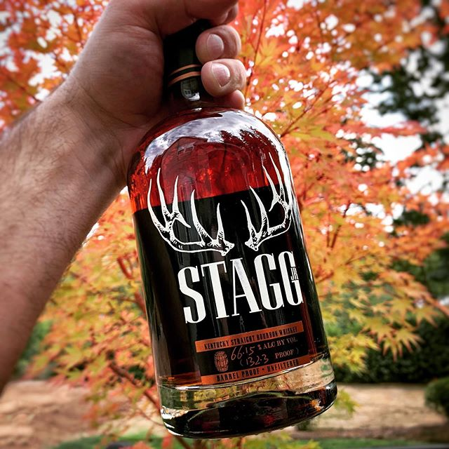 #whiskeywednesday is like taco Tuesday but for badasses... . Stagg Jr. popping up on shelves around Oregon just gets me more pumped for #bourbonhunting season 2019. . What bottle or bottles do you have your sights set on this year?