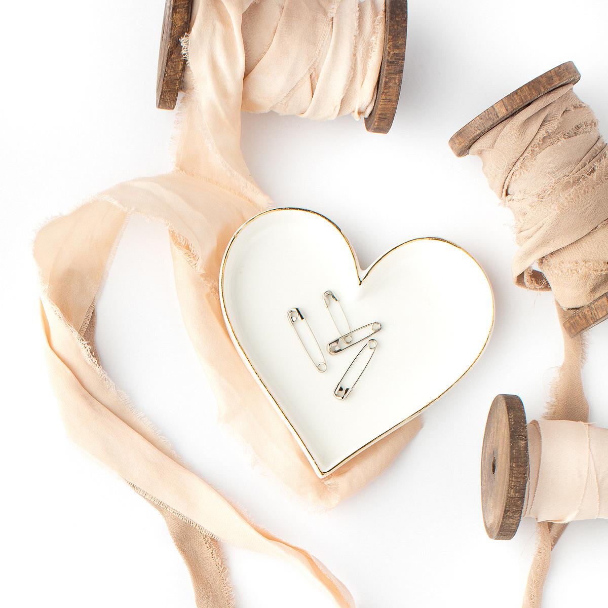 Rag Ribbon Spools and Heart.JPG