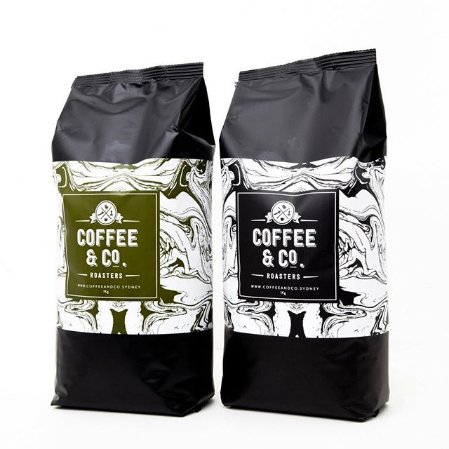 Our two babies // Our organic coffees are sourced from Central and South America, as well as Africa. And of course the Excalibur Blend, signature blend and most popular wholesale coffee. . . #tempe #coffeeandco #roasters #coffee #wholesale #sydney #organic #excalibur #blend