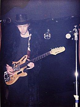 Darkness Gathering (with Winterland), Indigo, Wellington, September 2001.  Photo: Trisha?