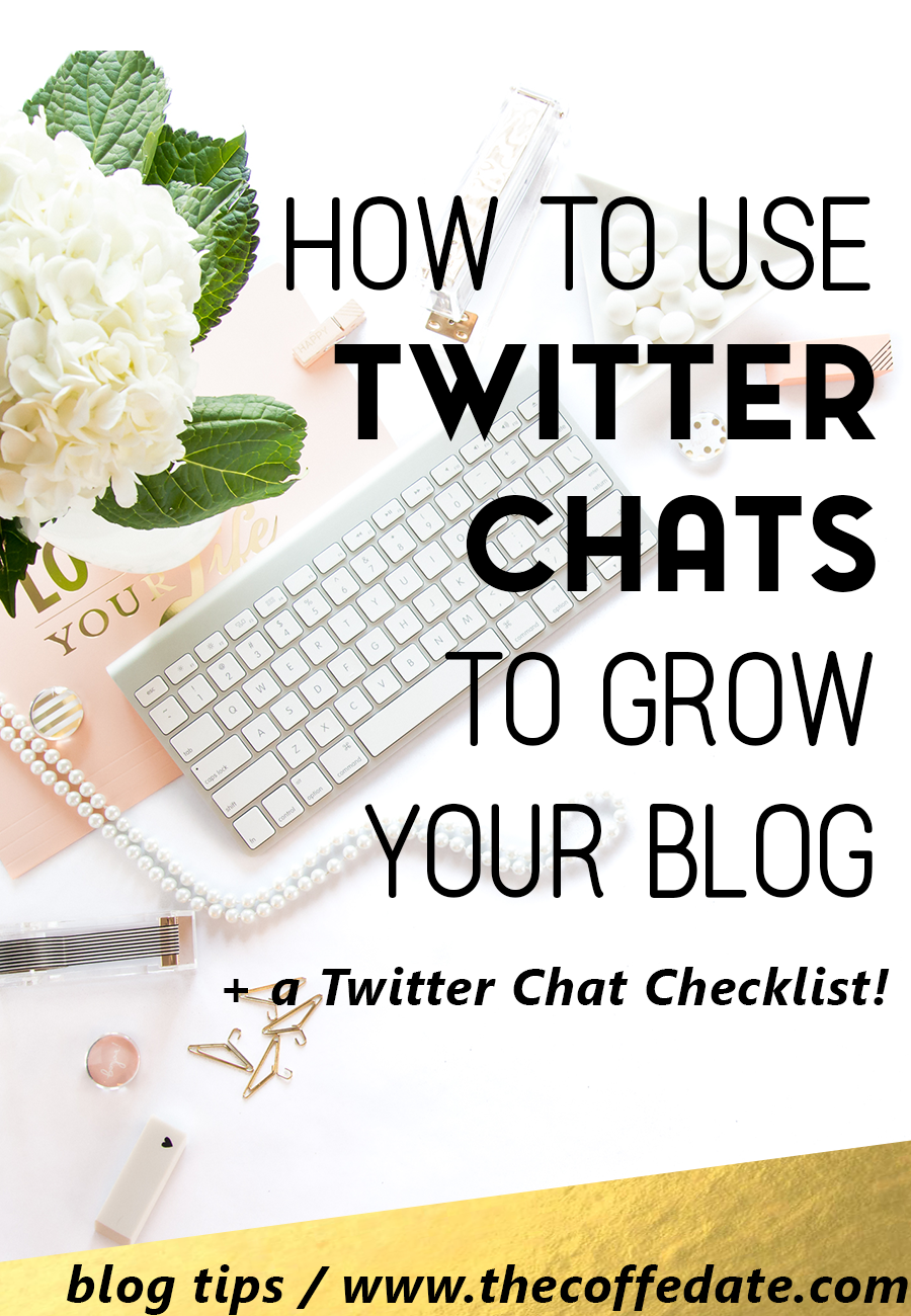 use twitter chats to grow your blog