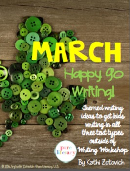 March Writing Resource