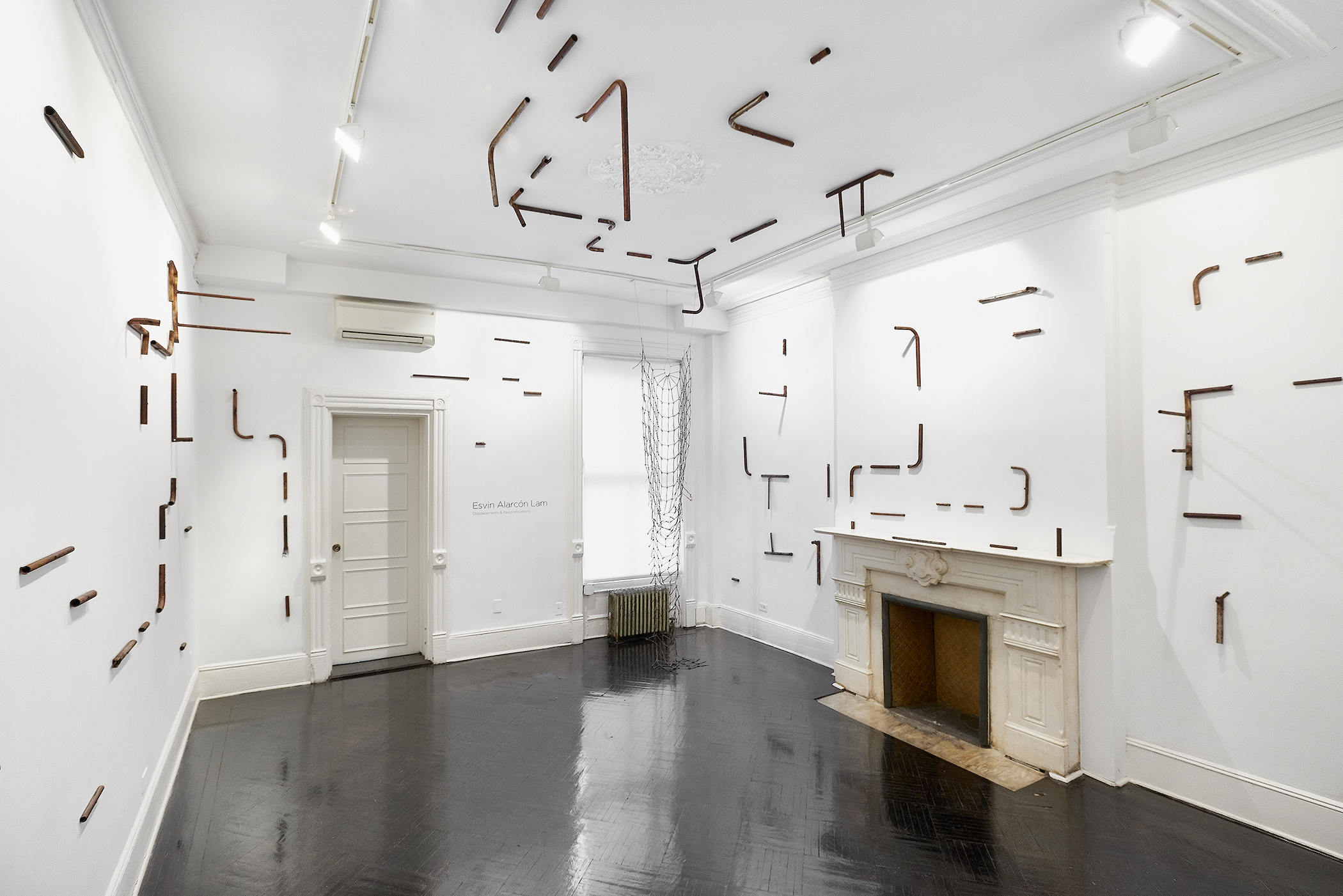 """Displacements & Reconstructions"" at Henrique Faria, New York City.  Photo credit:Arturo Sánchez."