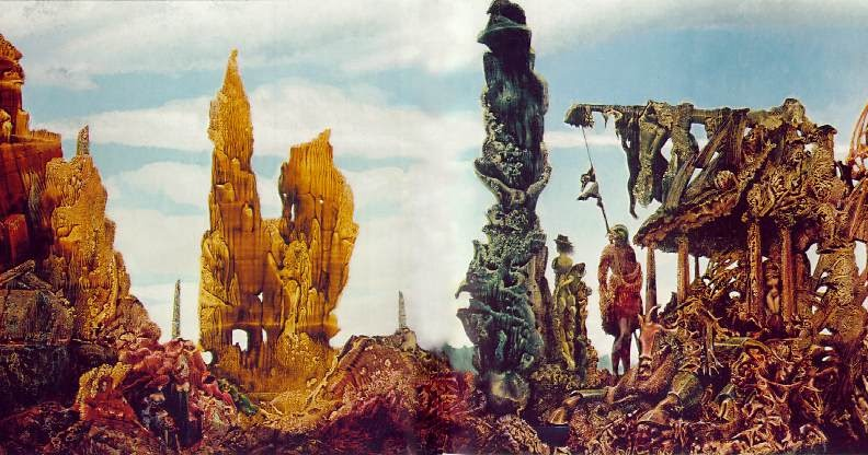 Europe After the Rain II, by Max Ernst