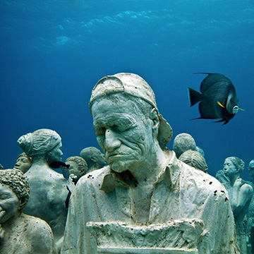 TED Talks –An underwater art museum, teeming with life