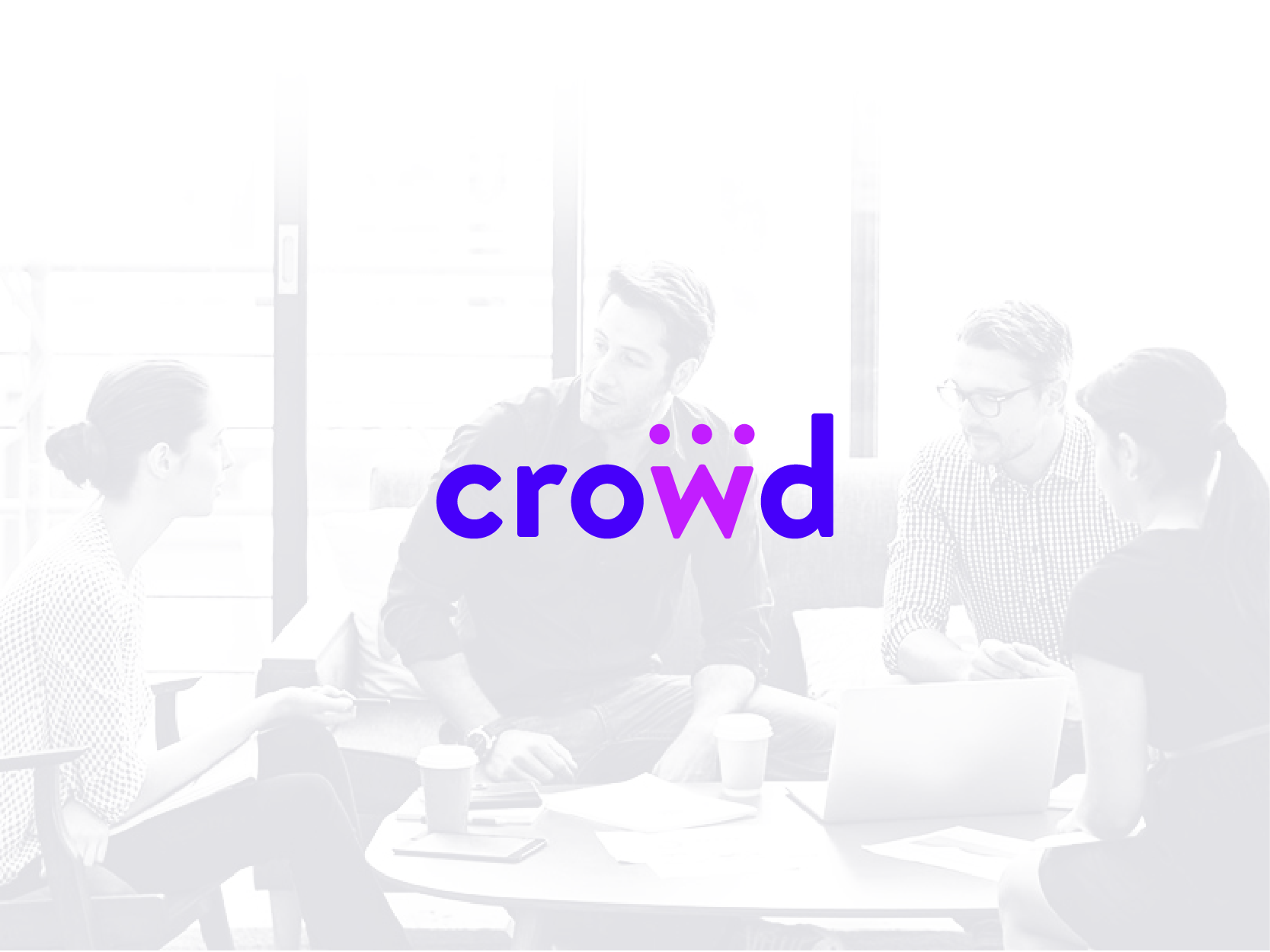 Crowd logo by Chiara Mensa